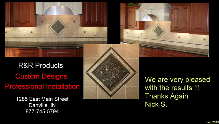Ceramic Backsplash